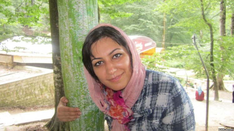 Amnesty International VOI VOICEOFIRANIAN IRANNEWS IRANBESTNEWS صدای ایرانیان مهدیه گلرو اسیدپاشی اصفهان اسیدپاشی اصفهان تهران Women's rights defender Mahdieh Golrou